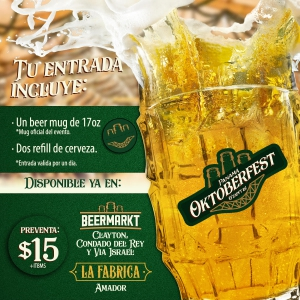 Oktoberfest Panama 2019 - Tickets on sale