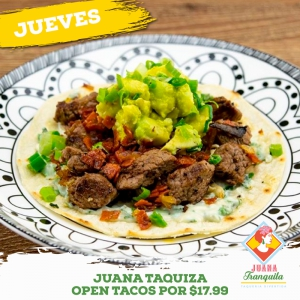 Open Tacos Taqueria Divertida
