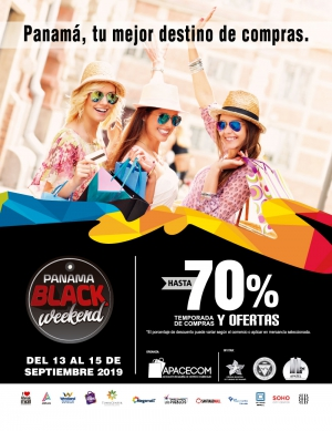 Panama your best choice to do your shopping - Black Weekend
