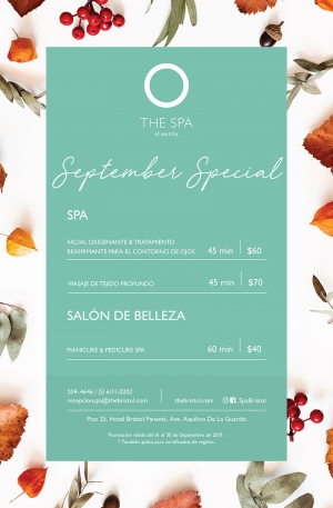 The Bristol Spa - September Special