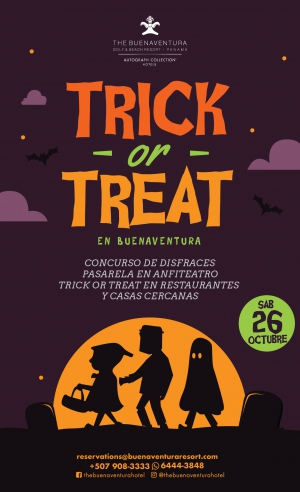 Trick or Treat at Buenaventura