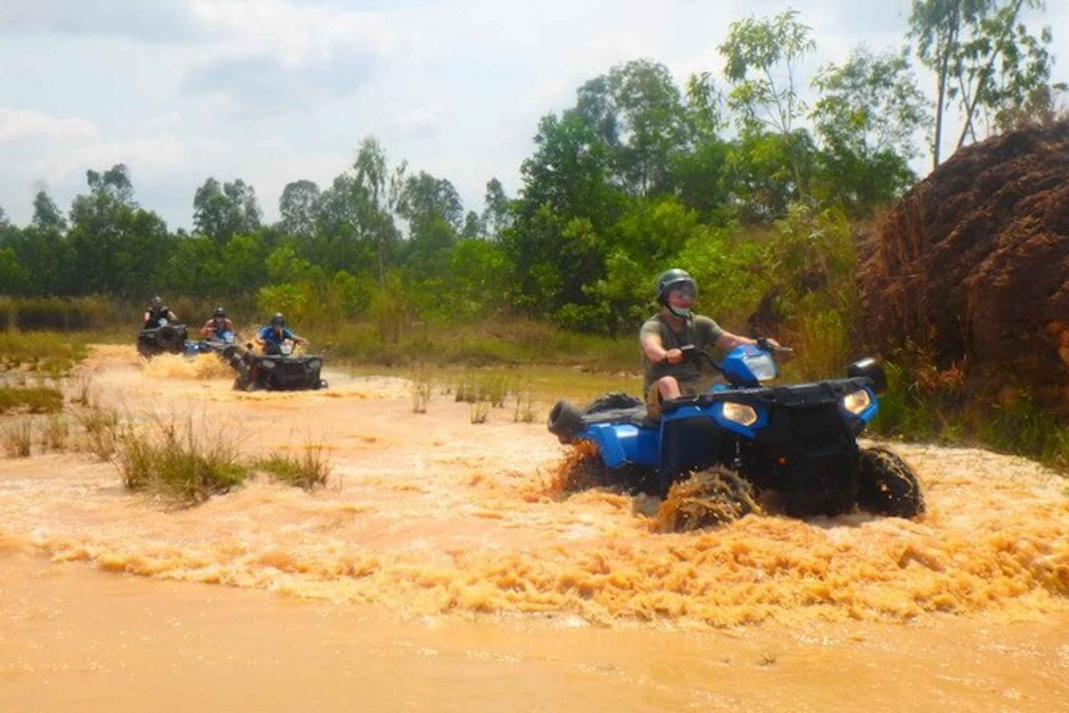 2-Hour Advanced ATV Off-Road Tour with Meal