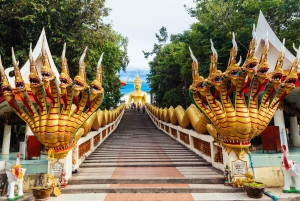 Pattaya: Tour to the Big Buddha Temple with Massage and Yoga