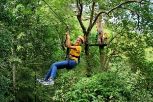 Zip Line Eco Adventure from Pattaya with Lunch