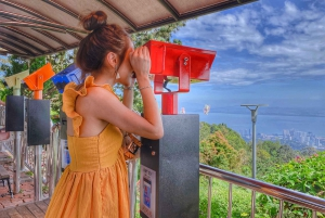 Iconic Temples and Penang Hills Half-Day Tour