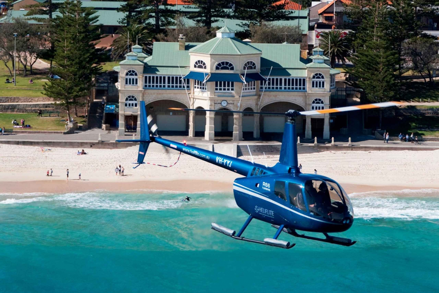 Coast to Perth City & Fremantle 25-Minute Helicopter Flight