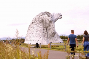 From Edinburgh: Glasgow, Lakes & Doune Castle Spanish Tour