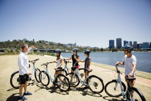 Guided Bike Tour around Matilda Bay and Kings Park