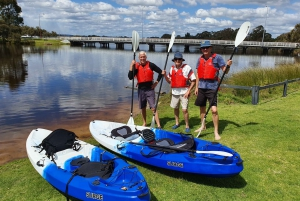Guided Kayak Tour around Canning River Wetlands