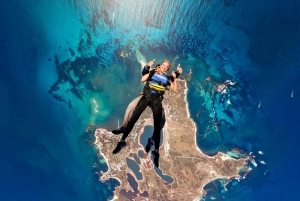 Perth: Rottnest Island Skydive and Ferry Package