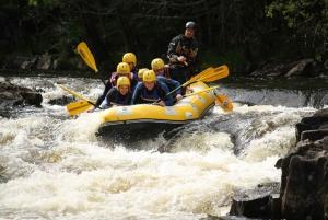 Perthshire: Splash White Water Rafting & Canyoning Adventure