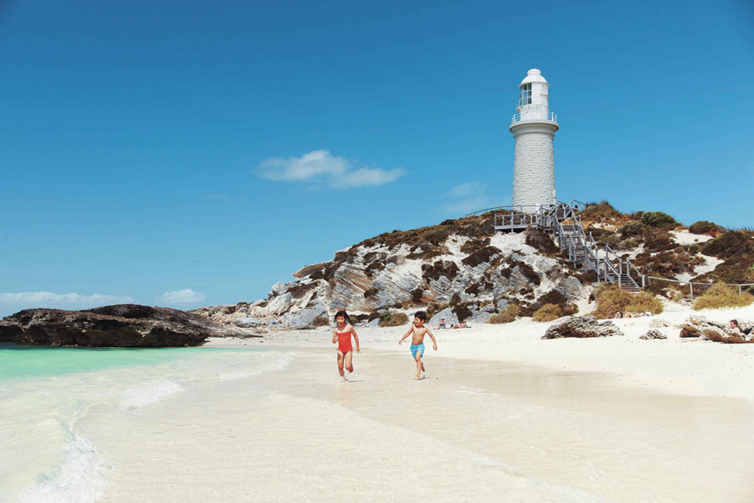 Rottnest Ferry Transfers w/ Oliver Hill Train & Tunnel Tour