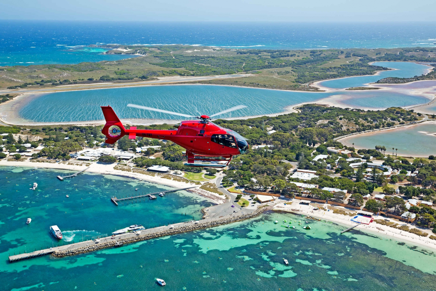 Rottnest Island Private Helicopter Transfer