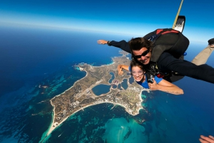 Rottnest: Skydiving and Return Ferry from Fremantle or Perth