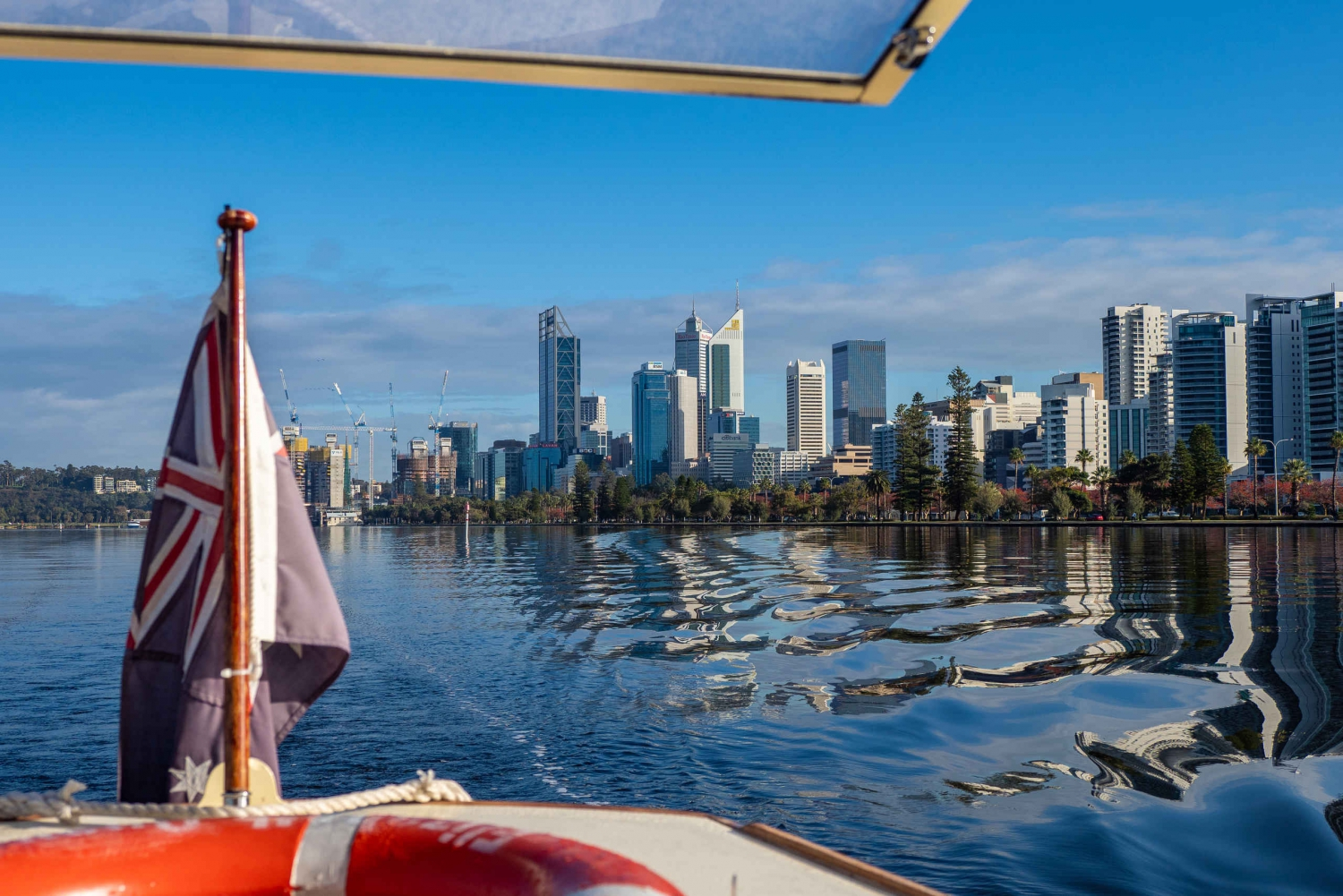 Swan River Cruise and Optus Stadium Guided Tour