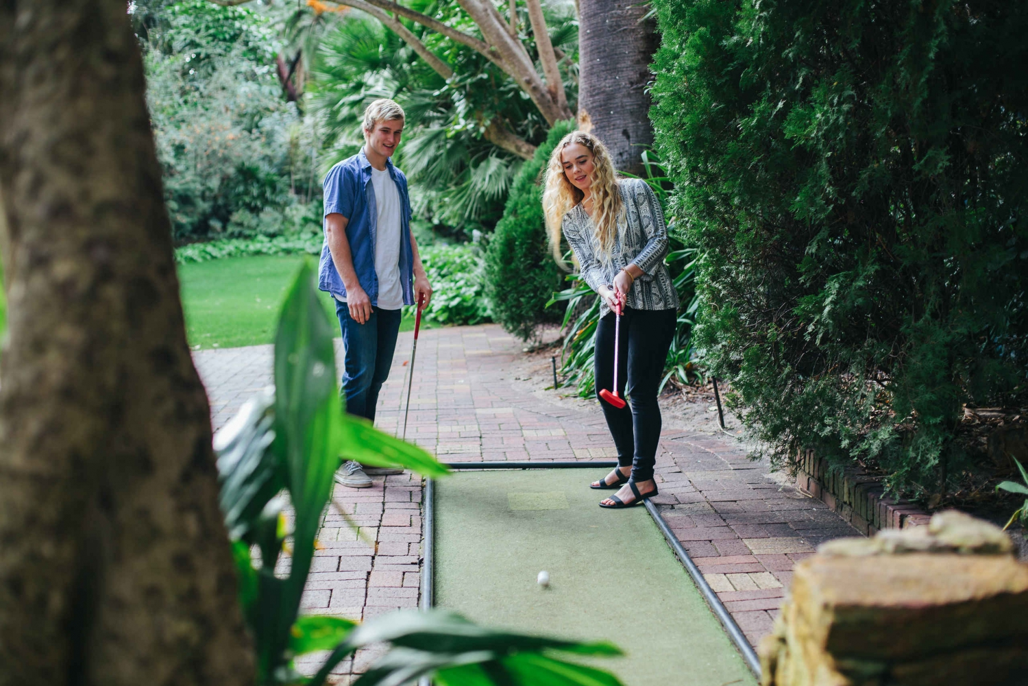 Wanneroo Botanic Gardens Mini Golf Day