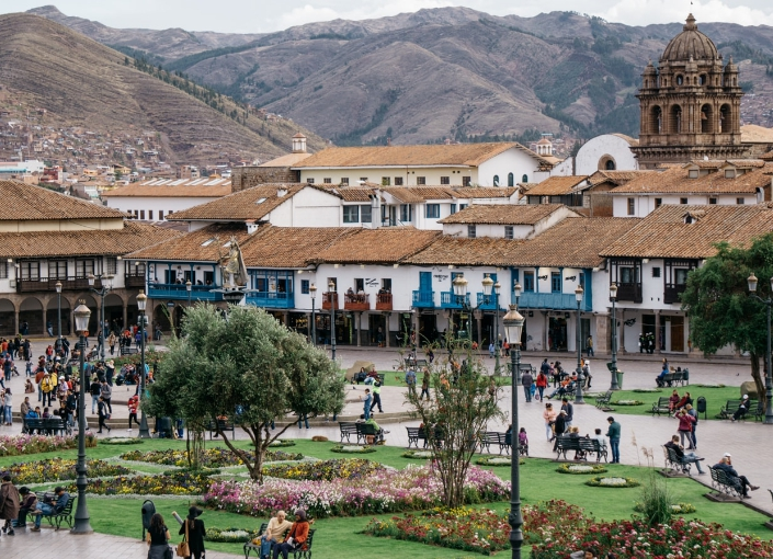 Icon places to see in Peru