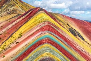 From Cusco: Palccoyo Alternative Rainbow Mountain Day Trek