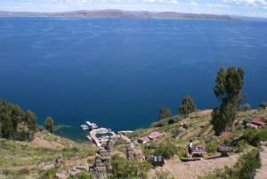 From Puno: Full-Day Uros Taquile Sillustani Tour