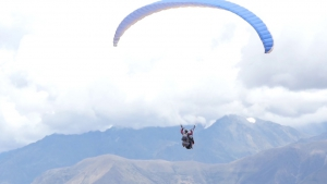 Hang-gliding and paragliding - Alley of Huaylas