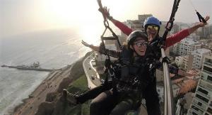 Hang-gliding and paragliding - Chincha