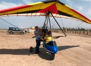 Hang-gliding and paragliding - Pachacamac