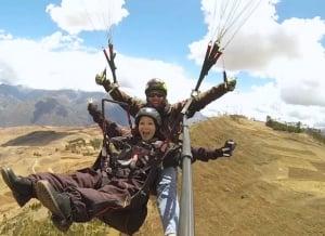 Hang-gliding and paragliding -Urubamba Valley