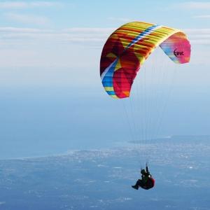 Hang-gliding and paragliding