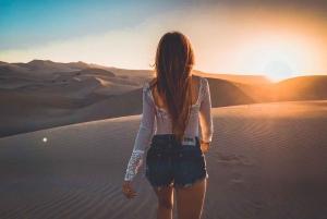 Ica or Huacachina: Dune Buggy, Sandboarding & Desert Camping