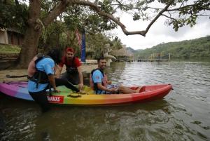 Kayak - Laguna Azul (Blue Lagoon) and Lago Lindo (Lake Lindo)