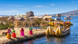 Kayak - Lake Titicaca
