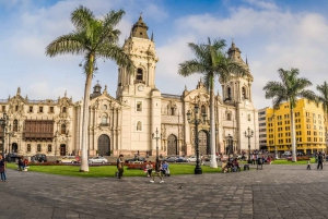 Lima: Colonial City Tour with Catacombs Visit