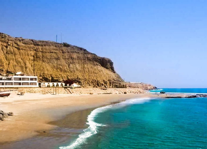 Beautiful beaches in Peru