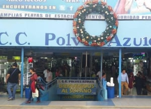 Polvos Azules - 'Blue Powder' Commercial Center