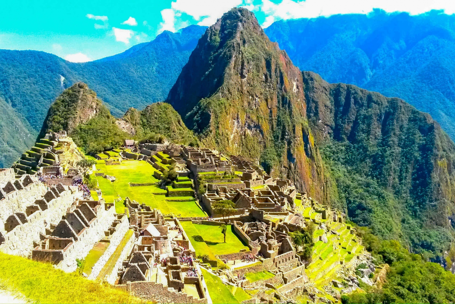 Best tour trails in Machu Picchu, Peru