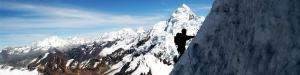 Snowy Ampay (Snow-capped peak)