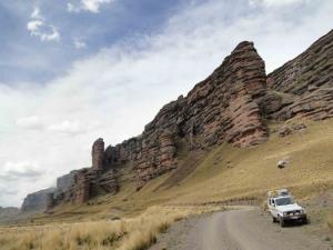 Taraco Heights and Tinajani Canyon Route