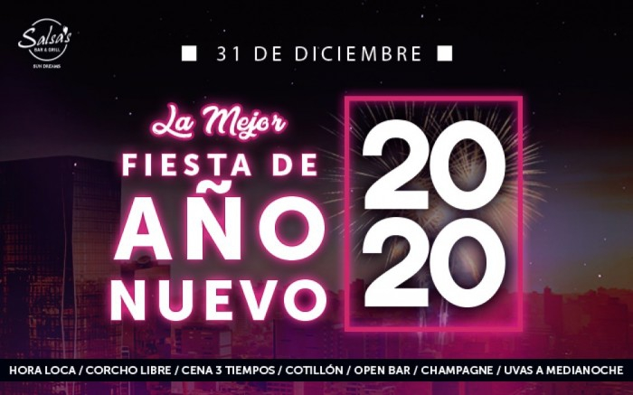2020 New Year's Party at Salsa's Bar & Grill