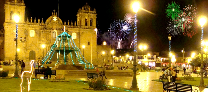 Celebrations for the New Year in Peru