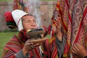 Day of Pachamama celebrations in Peru