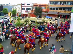 Fiesta Patrias celebrations - Peru's Independence Day