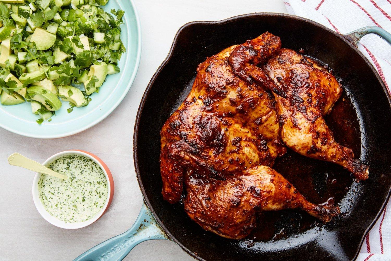 Grilled Chicken Day in Peru
