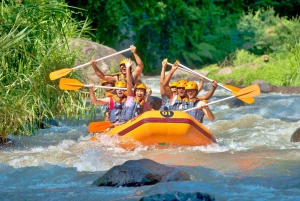 4-in-1 ATV, Zipline, Temple and River Rafting