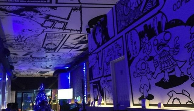 Comics Café and Bar