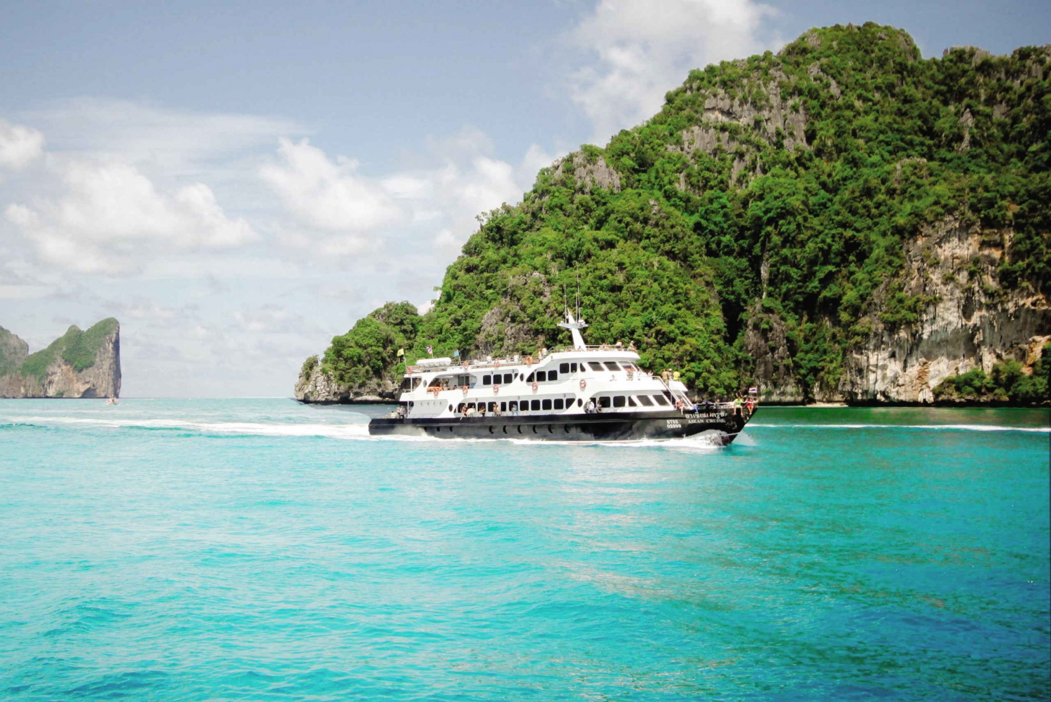 Coral Bay & Phi Phi Island Tour by Big Boat & Premium Lunch
