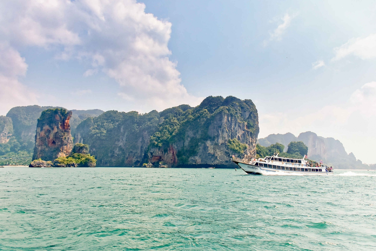Ferry Transfer to Koh Phi Phi From Ao Nang and Railay Beach