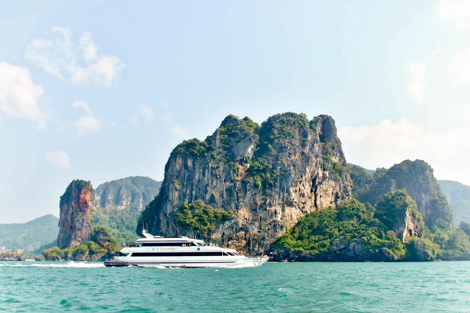 Ferry Transfer to Railay from Phuket, Phi Phi and Koh Lanta