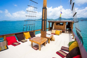 From Full-Day Cruise Along the Andaman Coast