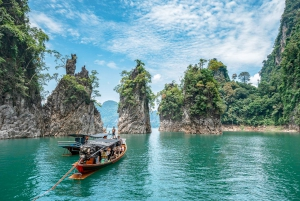 From Khao Sok Lake Sightseeing With Kayaking