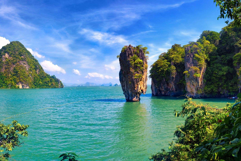 From Phang Nga Bay Sunrise Tour by Speedboat & Canoe